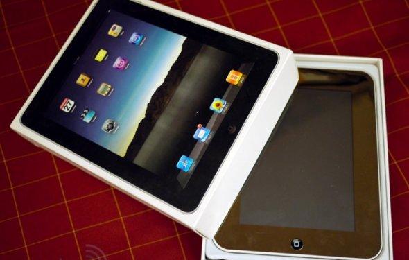 Поддельный китайский iPad на