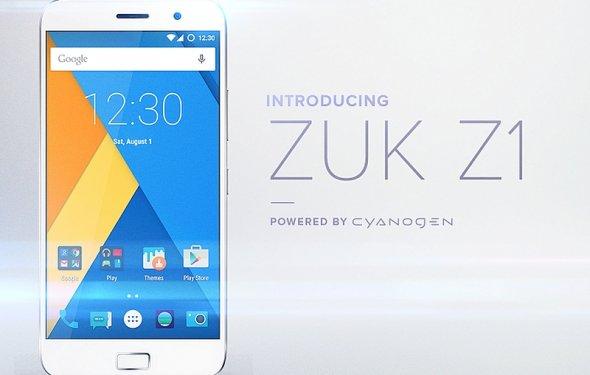 ZUK Z1 использует ОС Cyanogen