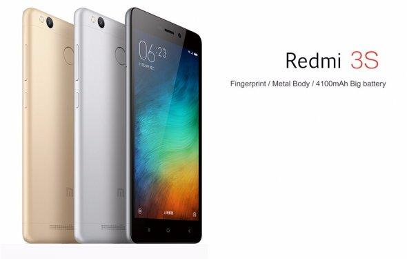 Смартфон XIAOMI REDMI 3S 5.0